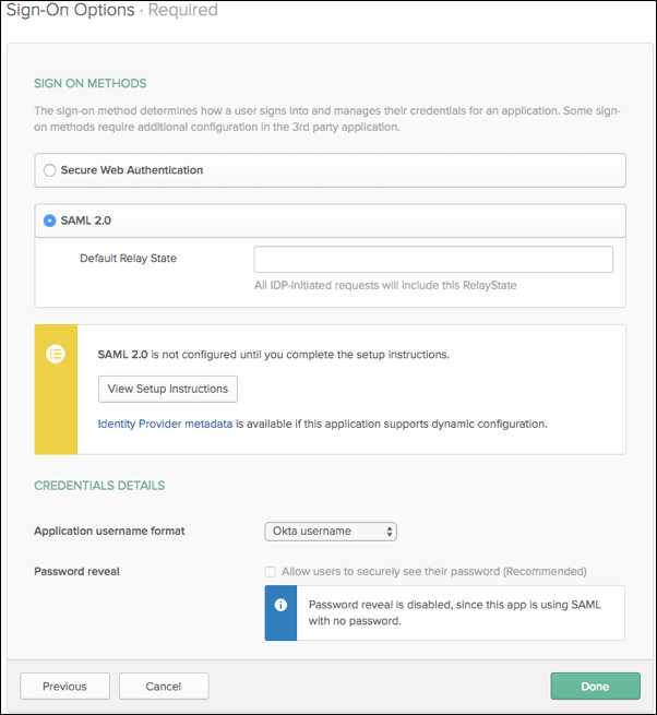 Provision Users with Okta | Quick Base Help